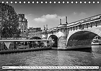 PARIS Monochrome Impressionen (Tischkalender 2019 DIN A5 quer) - Produktdetailbild 5