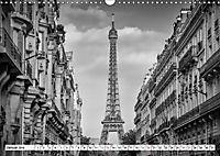 PARIS Monochrome Impressionen (Wandkalender 2019 DIN A3 quer) - Produktdetailbild 1