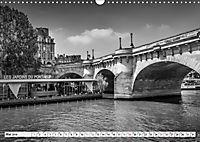 PARIS Monochrome Impressionen (Wandkalender 2019 DIN A3 quer) - Produktdetailbild 5