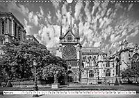 PARIS Monochrome Impressionen (Wandkalender 2019 DIN A3 quer) - Produktdetailbild 4