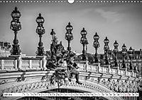 PARIS Monochrome Impressionen (Wandkalender 2019 DIN A3 quer) - Produktdetailbild 7