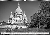 PARIS Monochrome Impressionen (Wandkalender 2019 DIN A3 quer) - Produktdetailbild 9