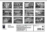PARIS Monochrome Impressionen (Wandkalender 2019 DIN A3 quer) - Produktdetailbild 13