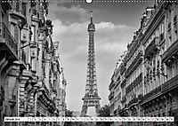PARIS Monochrome Impressionen (Wandkalender 2019 DIN A2 quer) - Produktdetailbild 1