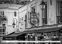 PARIS Monochrome Impressionen (Wandkalender 2019 DIN A2 quer) - Produktdetailbild 3