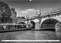 PARIS Monochrome Impressionen (Wandkalender 2019 DIN A2 quer) - Produktdetailbild 5