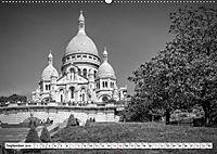 PARIS Monochrome Impressionen (Wandkalender 2019 DIN A2 quer) - Produktdetailbild 9