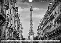 PARIS Monochrome Impressionen (Wandkalender 2019 DIN A4 quer) - Produktdetailbild 1