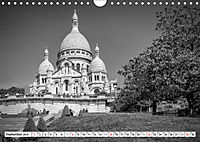 PARIS Monochrome Impressionen (Wandkalender 2019 DIN A4 quer) - Produktdetailbild 9