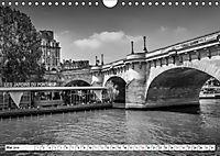 PARIS Monochrome Impressionen (Wandkalender 2019 DIN A4 quer) - Produktdetailbild 5