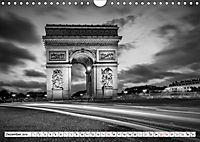 PARIS Monochrome Impressionen (Wandkalender 2019 DIN A4 quer) - Produktdetailbild 12
