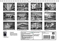 PARIS Monochrome Impressionen (Wandkalender 2019 DIN A4 quer) - Produktdetailbild 13