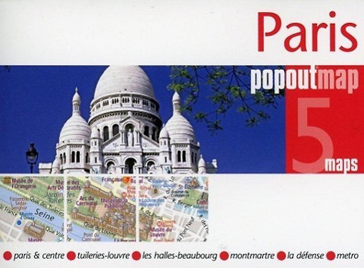 Paris PopOut Map, 5 maps Buch versandkostenfrei bei Weltbild ...