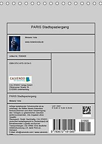 PARIS Stadtspaziergang (Tischkalender 2019 DIN A5 hoch) - Produktdetailbild 13