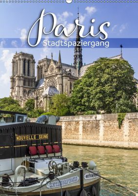 PARIS Stadtspaziergang (Wandkalender 2019 DIN A2 hoch), Melanie Viola