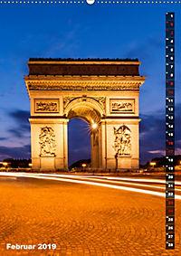 PARIS Stadtspaziergang (Wandkalender 2019 DIN A2 hoch) - Produktdetailbild 2