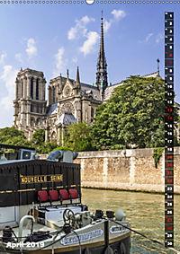 PARIS Stadtspaziergang (Wandkalender 2019 DIN A2 hoch) - Produktdetailbild 4