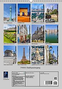 PARIS Stadtspaziergang (Wandkalender 2019 DIN A3 hoch) - Produktdetailbild 13
