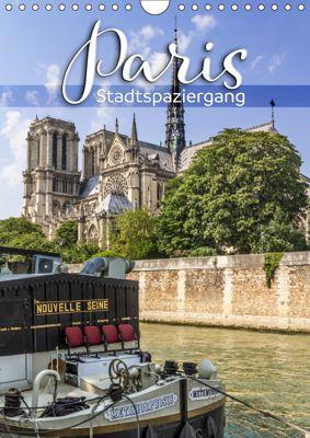 PARIS Stadtspaziergang (Wandkalender 2019 DIN A4 hoch), Melanie Viola