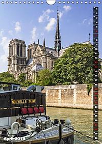 PARIS Stadtspaziergang (Wandkalender 2019 DIN A4 hoch) - Produktdetailbild 4