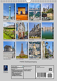 PARIS Stadtspaziergang (Wandkalender 2019 DIN A4 hoch) - Produktdetailbild 13
