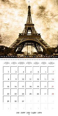 Paris with love (Wall Calendar 2019 300 × 300 mm Square) - Produktdetailbild 7