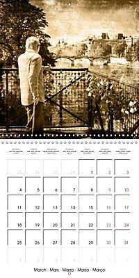 Paris with love (Wall Calendar 2019 300 × 300 mm Square) - Produktdetailbild 3