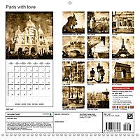 Paris with love (Wall Calendar 2019 300 × 300 mm Square) - Produktdetailbild 13