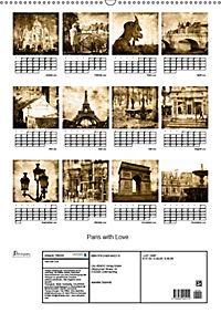 Paris with Love (Wandkalender 2019 DIN A2 hoch) - Produktdetailbild 13