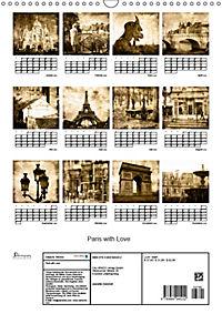 Paris with Love (Wandkalender 2019 DIN A3 hoch) - Produktdetailbild 13
