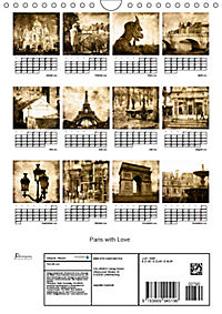 Paris with Love (Wandkalender 2019 DIN A4 hoch) - Produktdetailbild 13