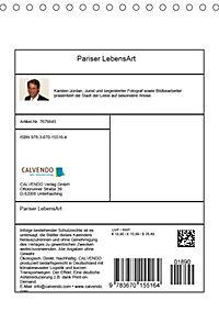 Pariser LebensArt (Tischkalender 2019 DIN A5 hoch) - Produktdetailbild 13