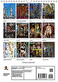 Pariser LebensArt (Wandkalender 2019 DIN A4 hoch) - Produktdetailbild 4