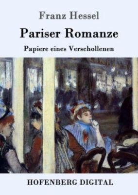 Pariser Romanze, Franz Hessel
