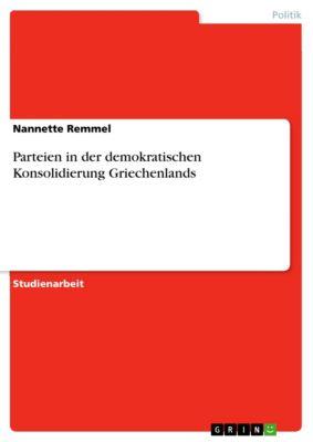 Parteien in der demokratischen Konsolidierung Griechenlands, Nannette Remmel