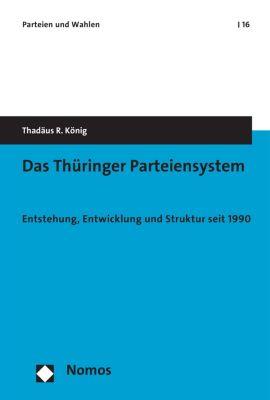 Parteien und Wahlen: Das Thüringer Parteiensystem, Thadäus R. König