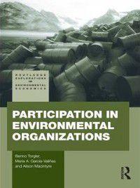 Participation in Environmental Organizations, Benno Torgler, Alison Macintyre, Maria A. Garcia-Valinas
