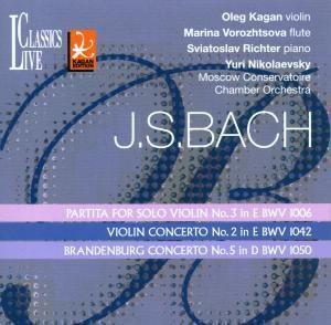 Partita Violin-solo 3,bwv 1006, Kagan, Richter, M. Vorozhtsova, Co Of Moscow Cons.