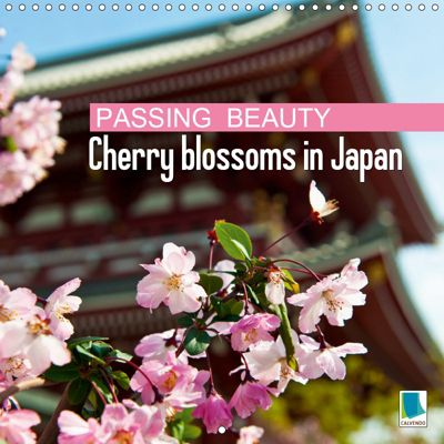 Passing beauty - Cherry blossoms in Japan (Wall Calendar 2019 300 × 300 mm Square), CALVENDO