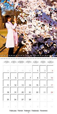 Passing beauty - Cherry blossoms in Japan (Wall Calendar 2019 300 × 300 mm Square) - Produktdetailbild 2