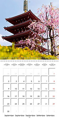 Passing beauty - Cherry blossoms in Japan (Wall Calendar 2019 300 × 300 mm Square) - Produktdetailbild 9