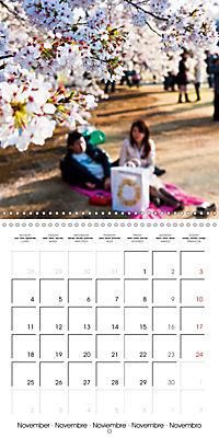 Passing beauty - Cherry blossoms in Japan (Wall Calendar 2019 300 × 300 mm Square) - Produktdetailbild 11