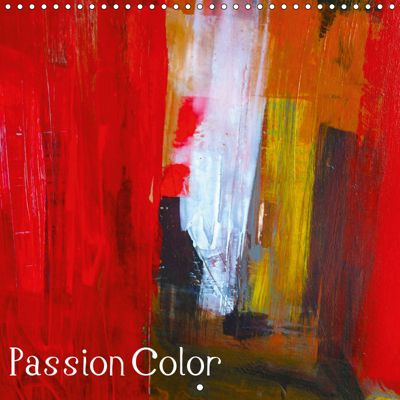 passion color (Wall Calendar 2019 300 × 300 mm Square), Michelle Hold