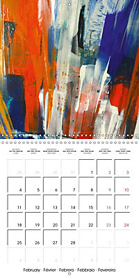 passion color (Wall Calendar 2019 300 × 300 mm Square) - Produktdetailbild 2
