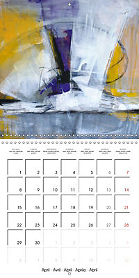 passion color (Wall Calendar 2019 300 × 300 mm Square) - Produktdetailbild 4