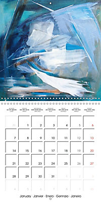 passion color (Wall Calendar 2019 300 × 300 mm Square) - Produktdetailbild 1