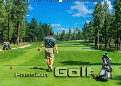 Passion Golf (Wandkalender 2019 DIN A2 quer), Renate Bleicher