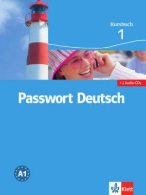 Passwort Deutsch, 3 Bde.: Bd.1 Kursbuch, m. 2 Audio-CDs