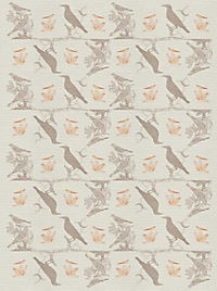 Pasta für Nachtigallen Geschenkpapier-Heft - Motiv Schwarze Federn - Produktdetailbild 1