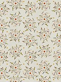 Pasta für Nachtigallen Geschenkpapier-Heft - Motiv Orange Federn - Produktdetailbild 2